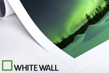 Whitewall Poster inklusive